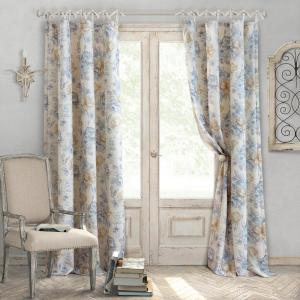 Elrene Annalise 52 inch W x 84 inch L Polyester Single Blackout Window Curtain Panel in... by Elrene