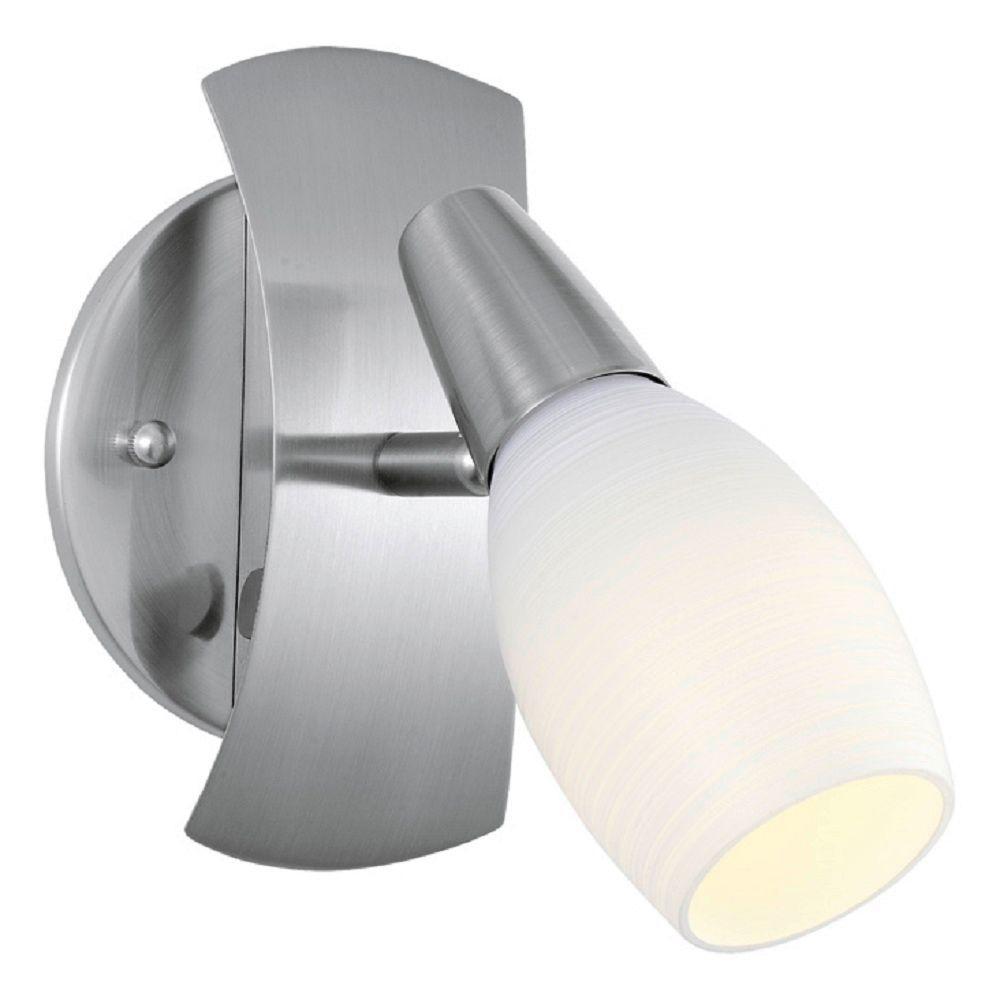 Parma 1-Head Matte Nickel Lighting Track