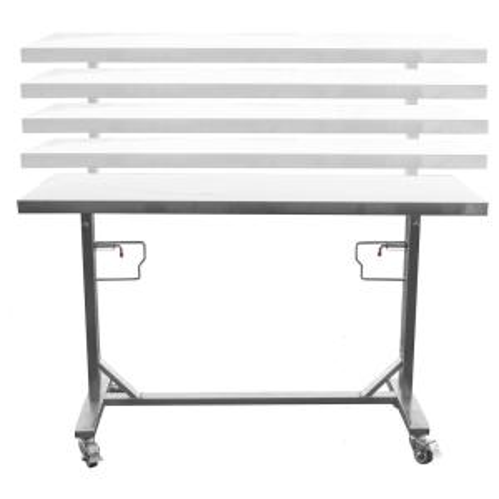 Sportsman Stainless Steel Adjustable Height Work Kitchen ...