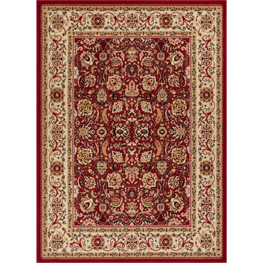 Well Woven Persa Tabriz 2 Ft 3 In X 3 Ft 11 In Traditional