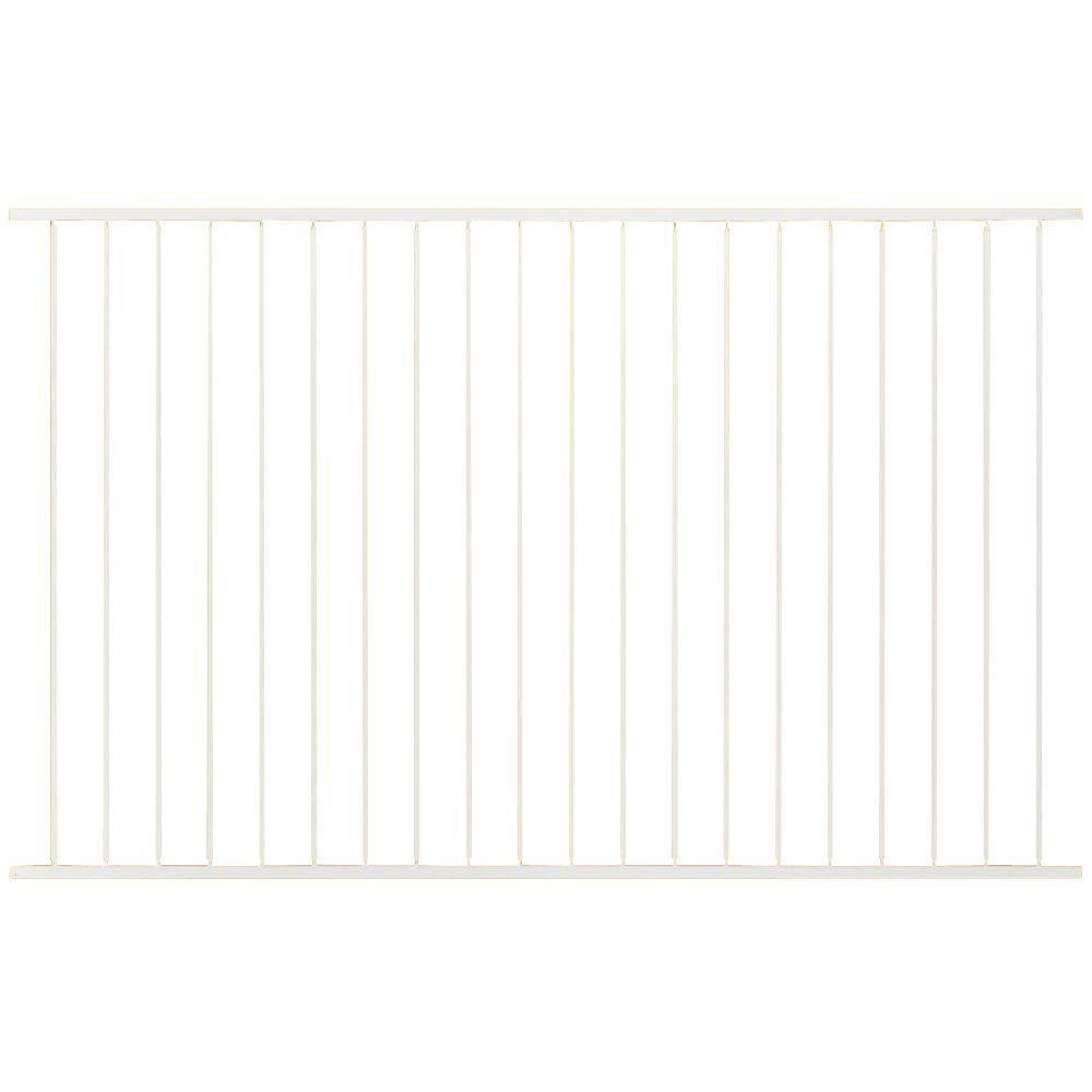 Us Door Fence Pro Series 4 84 Ft H X 7 75 W White