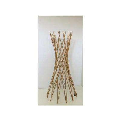 48 in. H Classic Willow Funnel Trellis