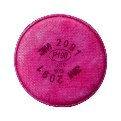 Particulate Respirator Filter Replacement Cartridge (100-Pack) (Case of 100)