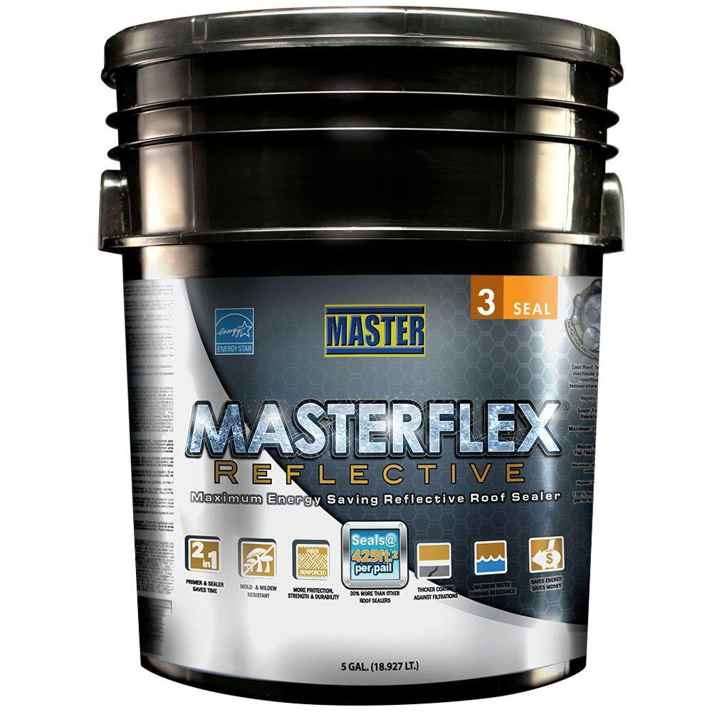 Master Products 5 Gal Masterflex Reflective Roof Sealer