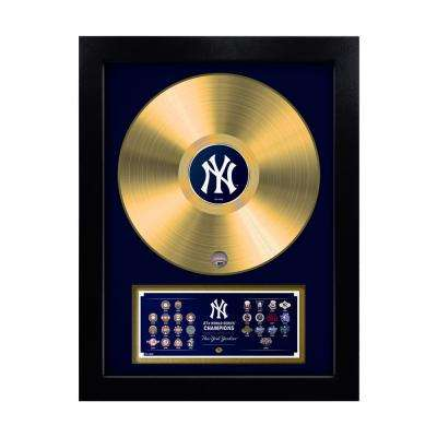 MLB New York Yankees 27-Time World Series Champion Gold Record