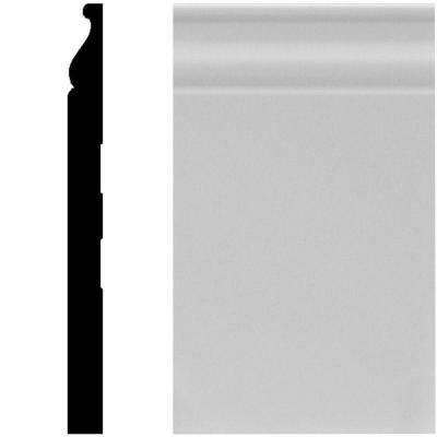 5/8 in. x 7-1/4 in. x 96 in. MDF Primed Base Moulding