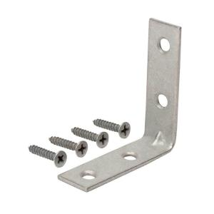 2 in. Galvanized Corner Brace (4-Pack)