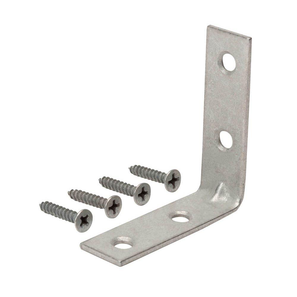 Everbilt 1-1/2 in. Galvanized Corner Brace (4-Pack)-15319 - The Home ...