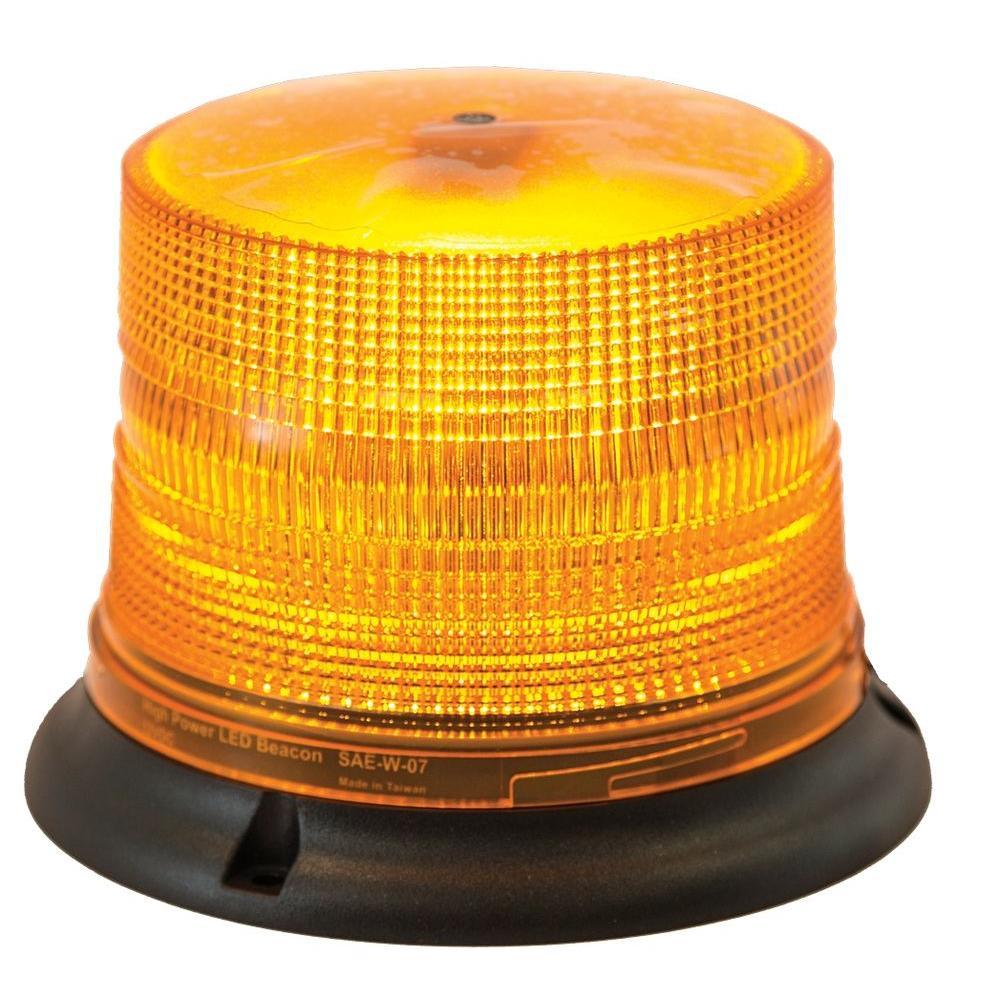 Amber LED Magnetic Mount Strobe Light