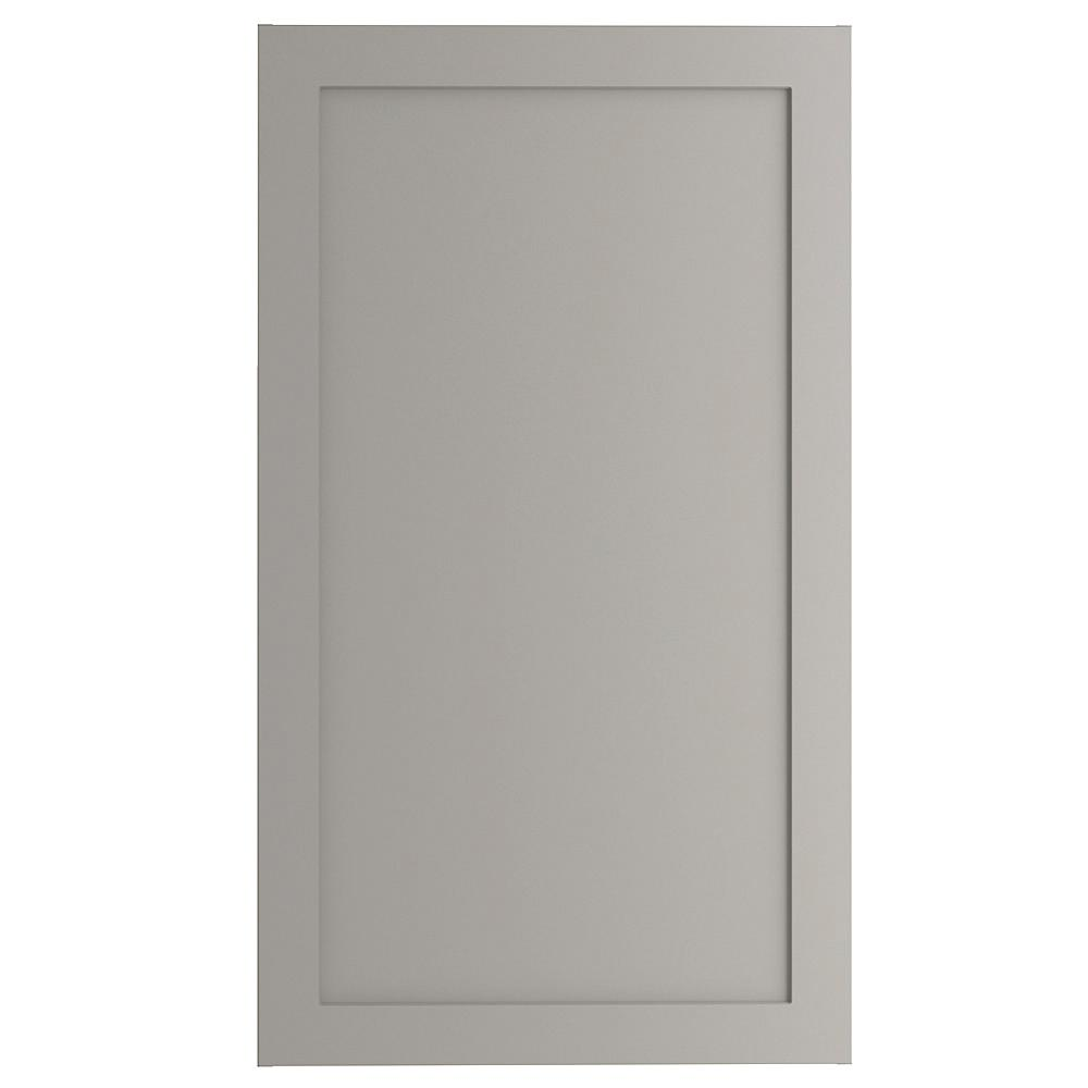Cambridge Assembled 24x42x12.5 in. Wall Cabinet in Gray