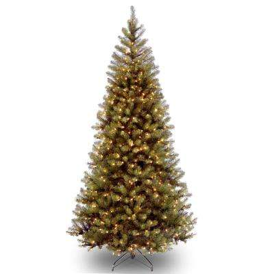 6.5 ft. Aspen Spruce Artificial Christmas Tree with Clear Lights