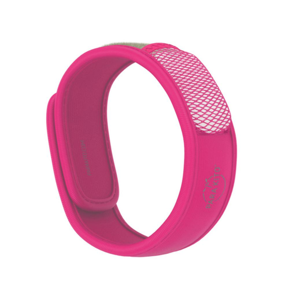 Fuchsia Refillable Mosquito Repellent Wristband