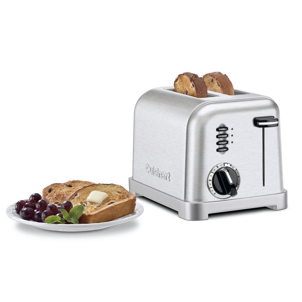 2-Slice Stainless Toaster