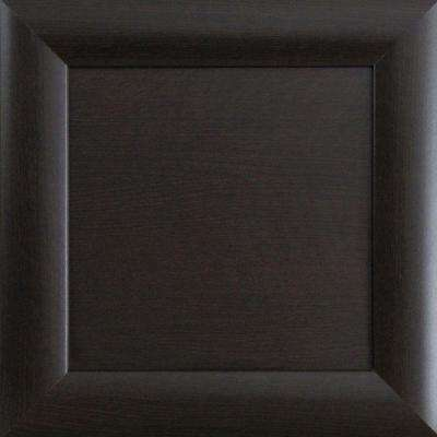 12.75x12.75x.75 in. Dolomiti Ready to Assemble Cabinet Door Sample in Espresso