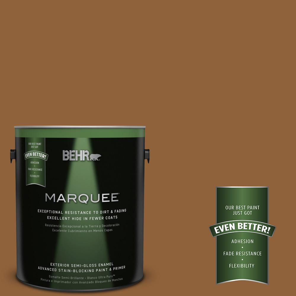 1-gal. #S250-7 Moroccan Spice Semi-Gloss Enamel Exterior Paint