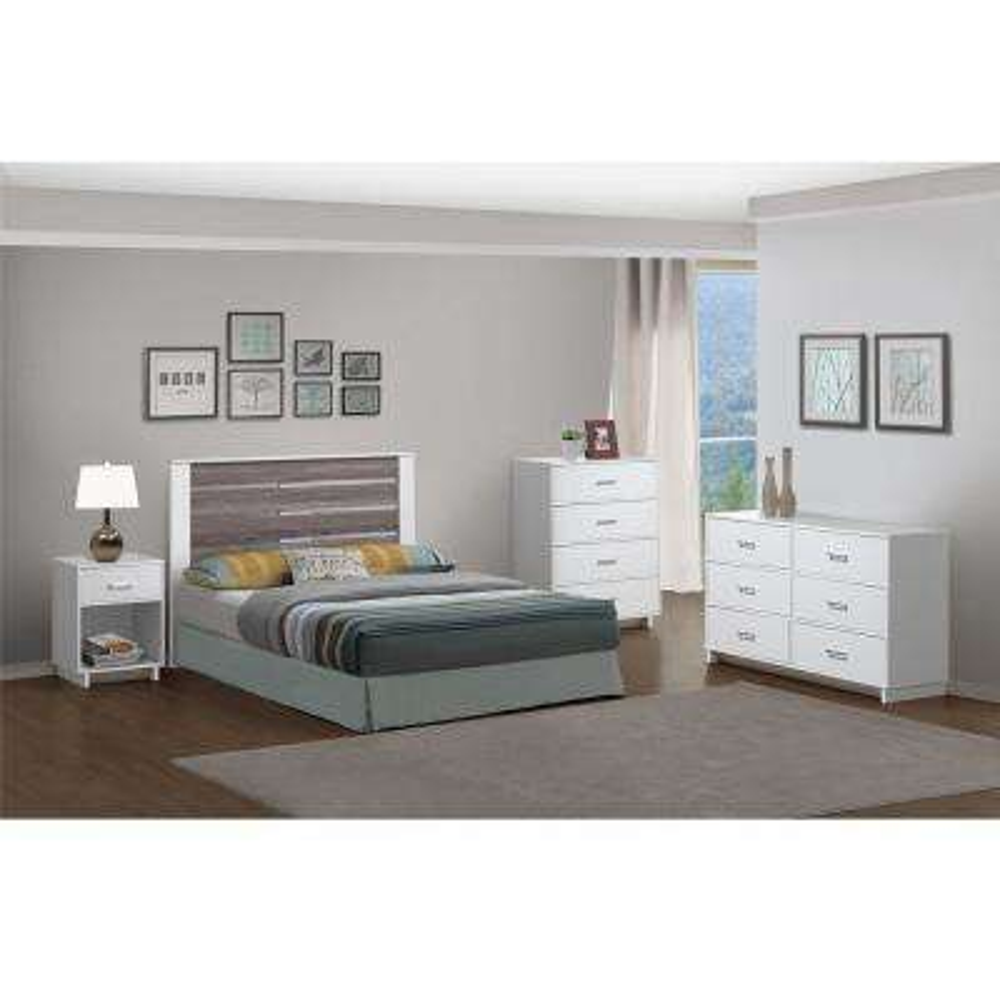 Colebrook 4 Drawer Vintage White Dresser. Dressers   Chests   Bedroom Furniture   The Home Depot