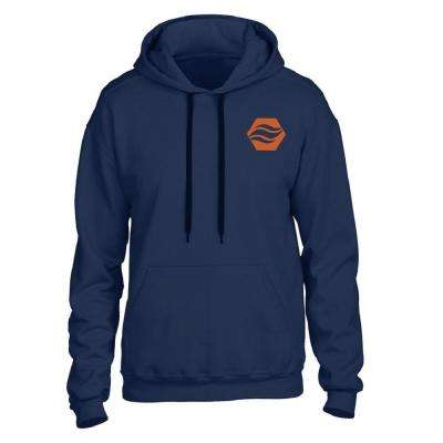 Large/X-Large Navy Heated Hoodie with Rechargeable Battery