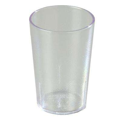 9.5 oz. SAN Plastic Stackable Tumbler in Clear (Case of 24)