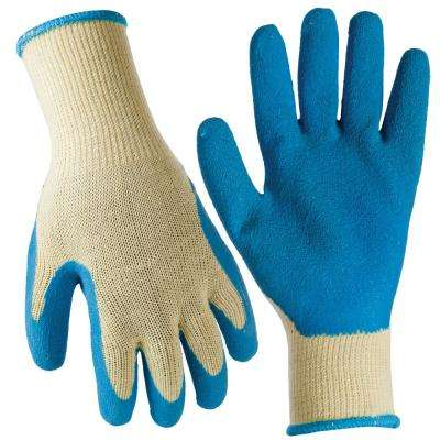 Large General Purpose Latex Coated Gloves (30-Pair)