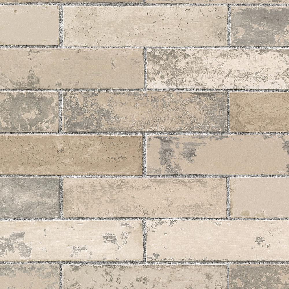 Swiss Brick Wallpaper