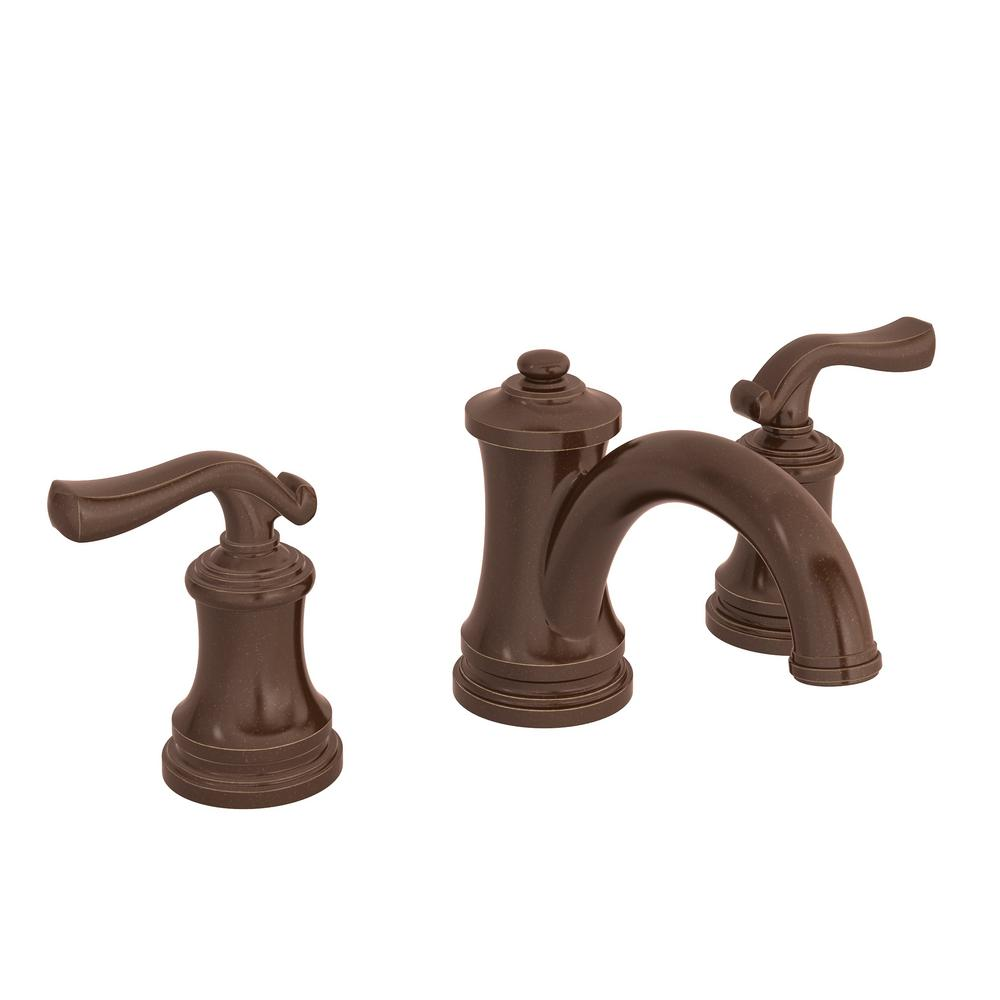 Winslet 8 in. Widespread 2-Handle Bathroom Faucet with Pop-Up Drain Assembly