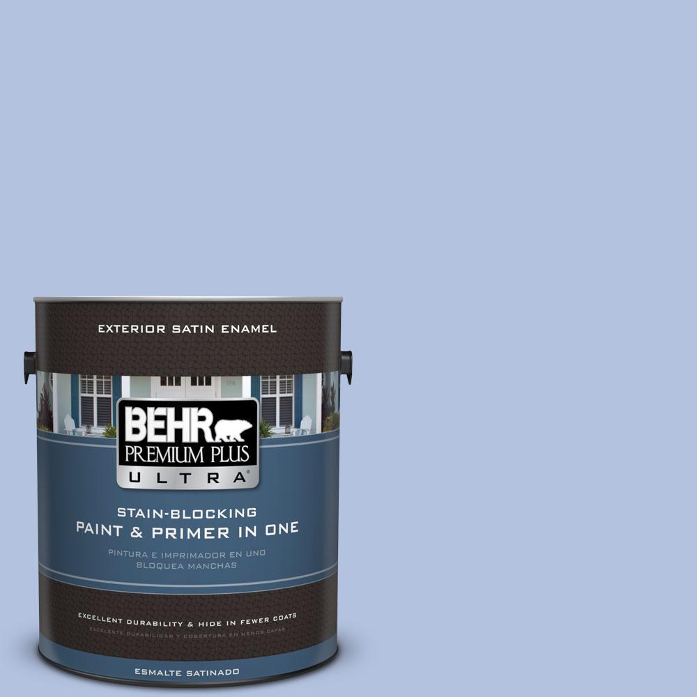 BEHR Premium Plus Ultra 1-gal. #M540-3 Eternal Elegance Satin Enamel Exterior Paint