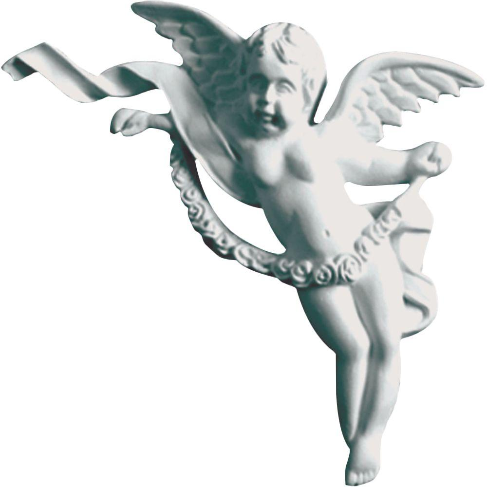 Ekena Millwork 1-1/8 in. x 5-1/8 in. x 6-5/8 in. Polyurethane Right Angel Onlay Moulding