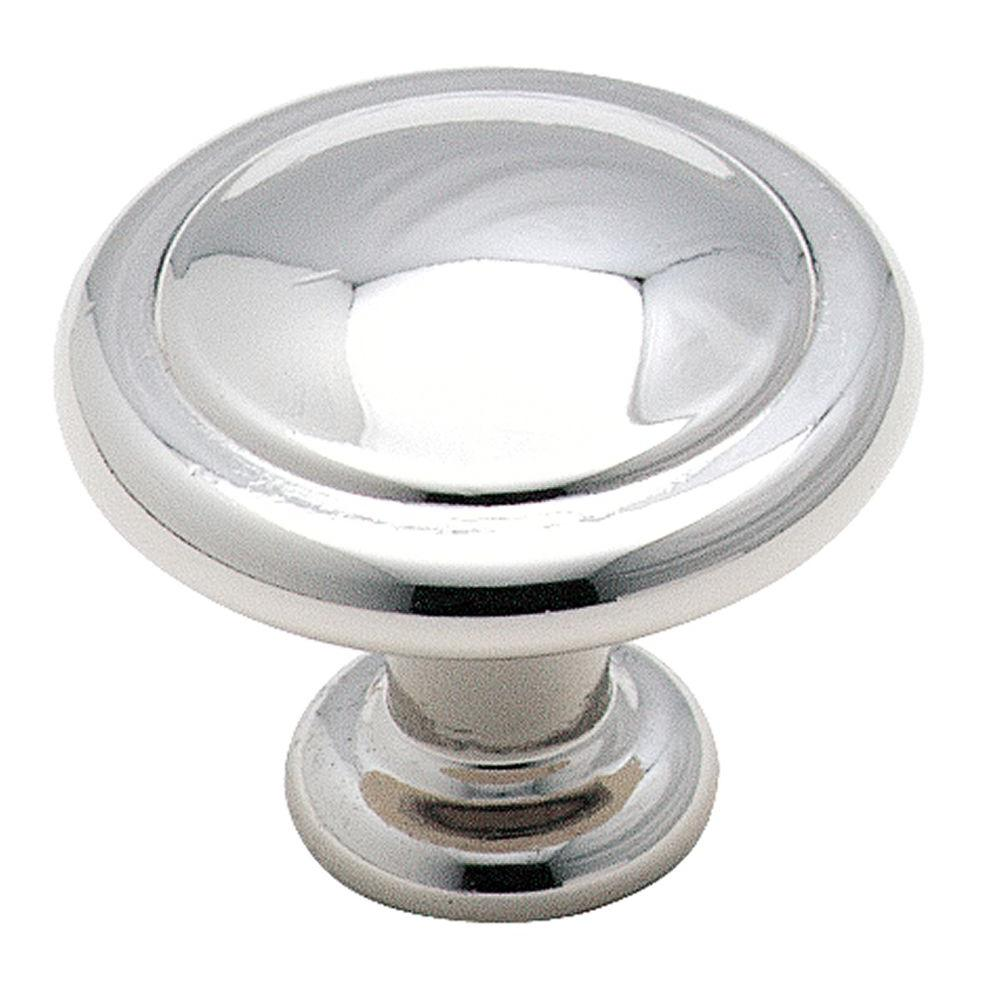 1-1/4 in. Polished Chrome Cabinet Knob