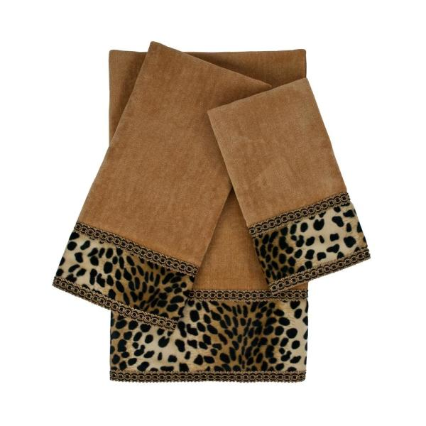Sherry Kline Leops Nugget Embellished Towel Set (3-Piece) SK000995