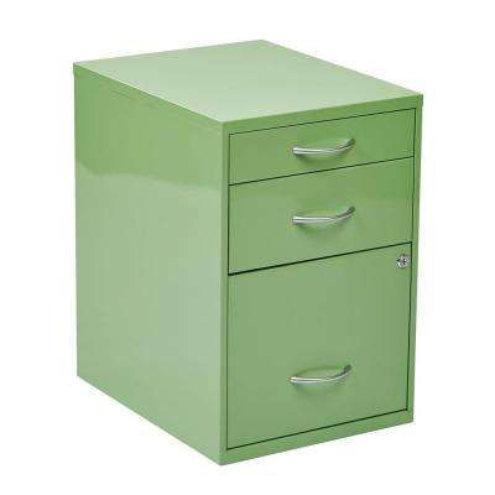 Green File Cabinet