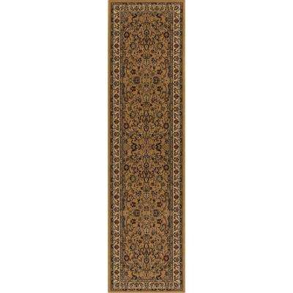 Persian Classics Kashan Gold 2 ft. x 7 ft. 7 in. Runner
