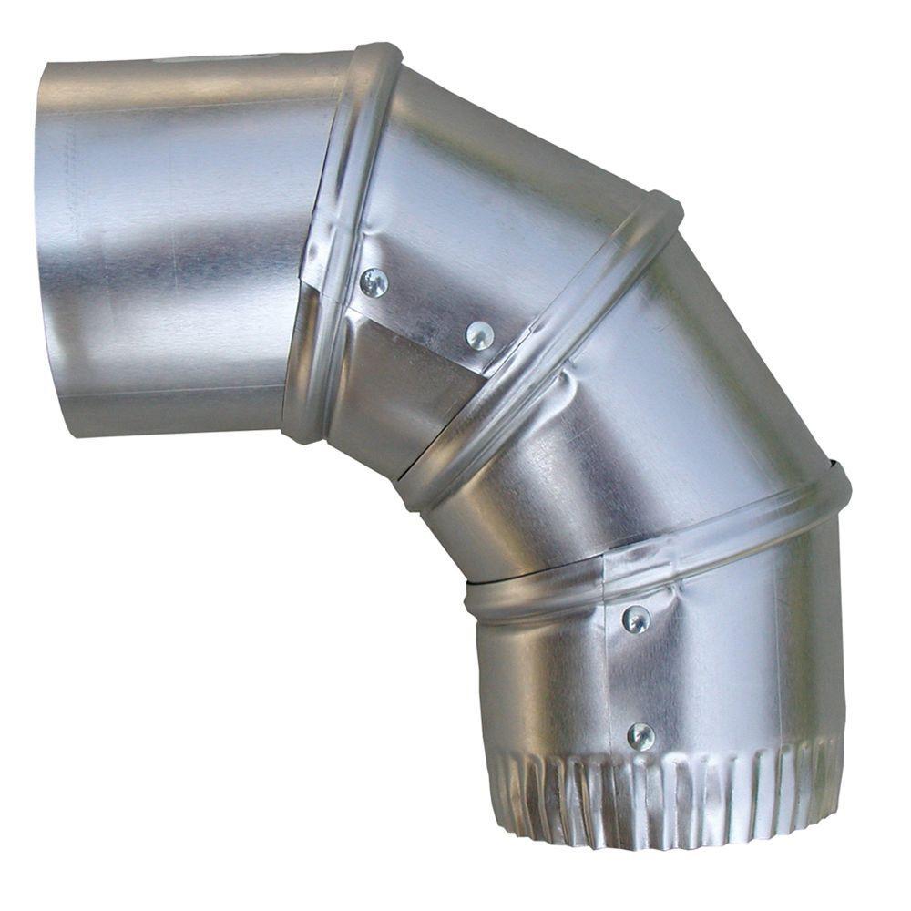 Speedi products in aluminum degree adjustable elbow