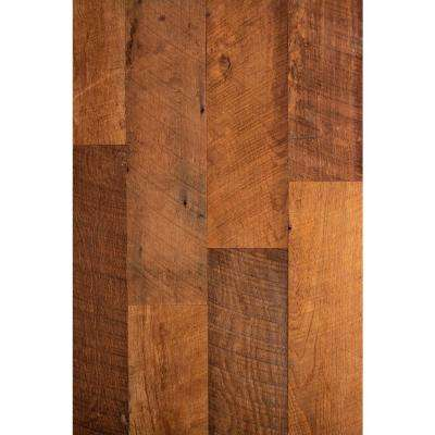 3/8 in. x Varying Widths x Varying Lengths Kentucky Racehorse Brown Reclaimed Wallboard (10 sq. ft./Case)