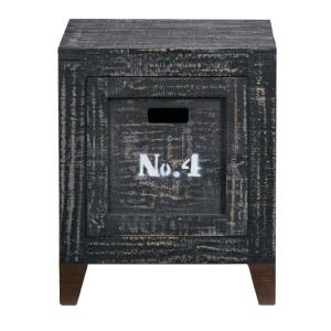Magnificent Progressive Furniture Wyatt Coal Storage End Table A746 69 Creativecarmelina Interior Chair Design Creativecarmelinacom