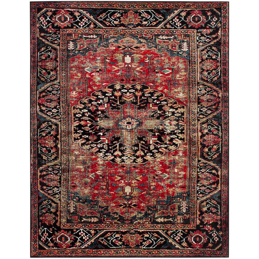 Safavieh Vintage Hamadan Red Multi 8 Ft X 10 Area Rug