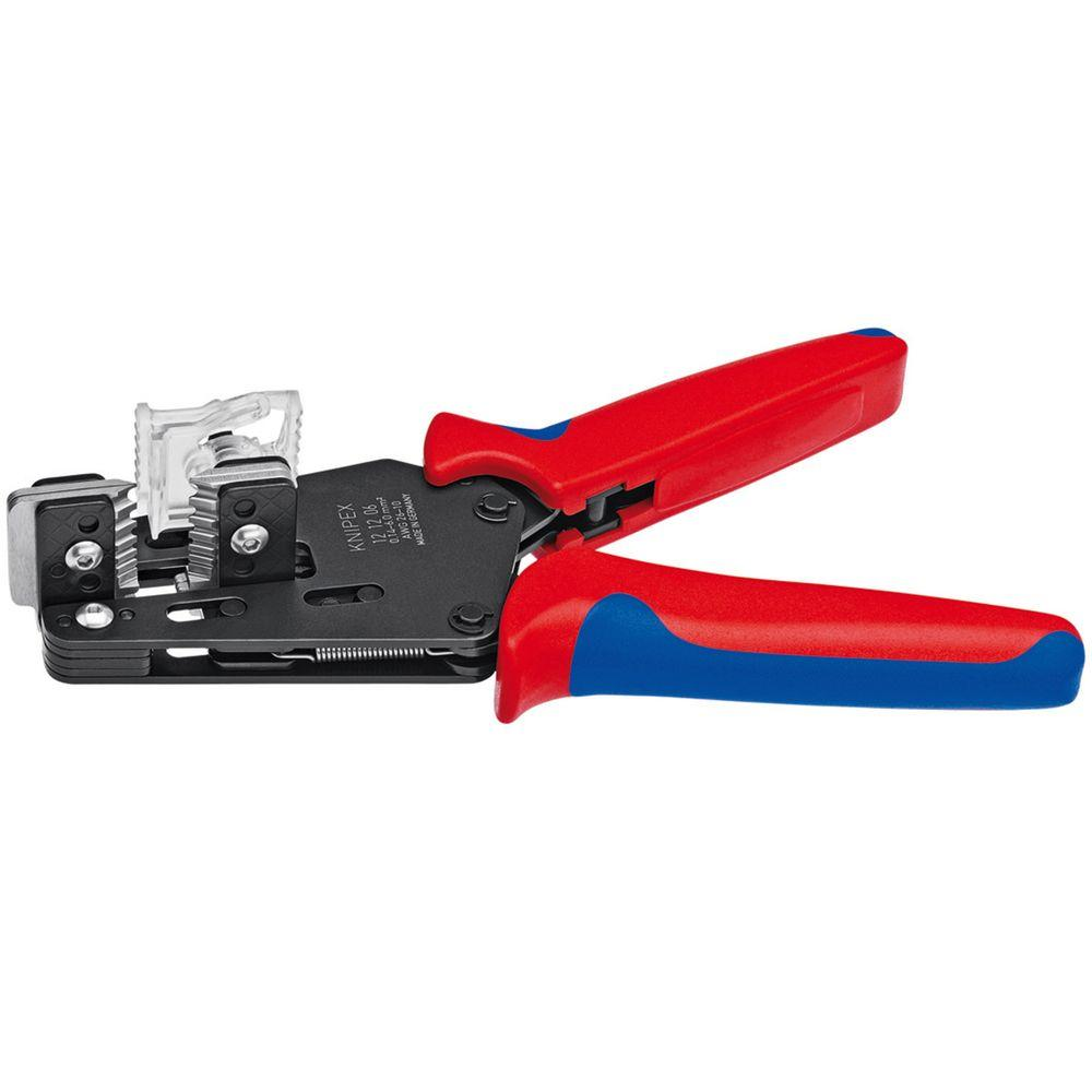 Egronomic hand held wire strippers