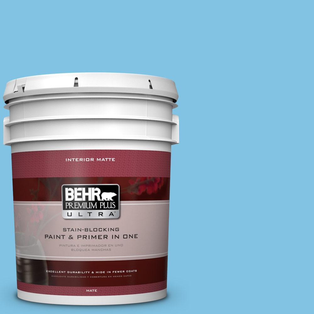 5 gal. #540B-4 Horizon Haze Flat/Matte Interior Paint