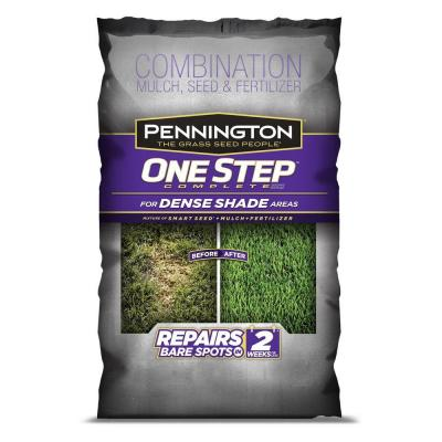 8.3 lb. One Step Complete for Dense Shade Mulch Areas with Smart Seed, Mulch, Fertilizer Mix