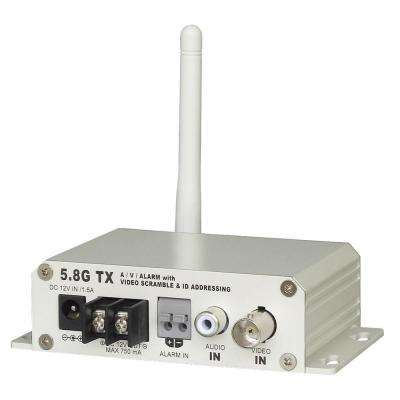 5.8GHz 8-Channel Single-Scan Scramble Wireless Transmitter with Power Supply
