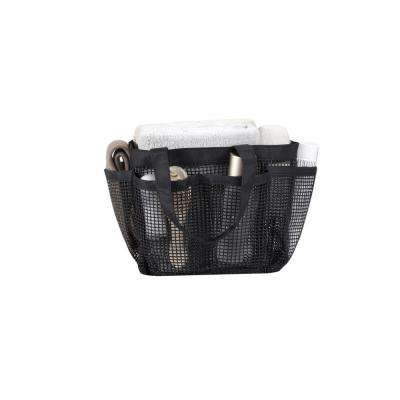 All Purpose Mesh Tote Bag in Black