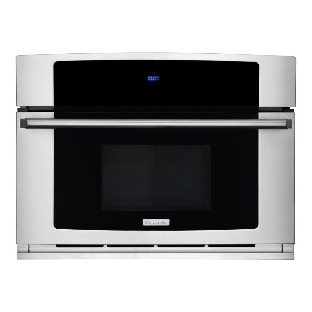 Electrolux Wave-Touch 1.5 cu. ft. Built-in Convection Microwave in Stainless Steel