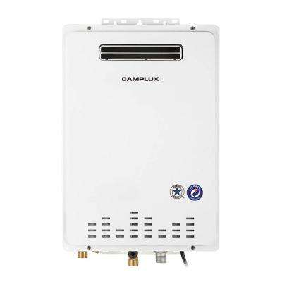 Camplux 26L 6.86 GPM Liquid Propane High Capacity Residential Outdoor Tankless Water Heater