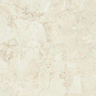 60 in. x 96 in. Laminate Sheet in Calacatta Oro with Standard Fine Velvet Texture Finish