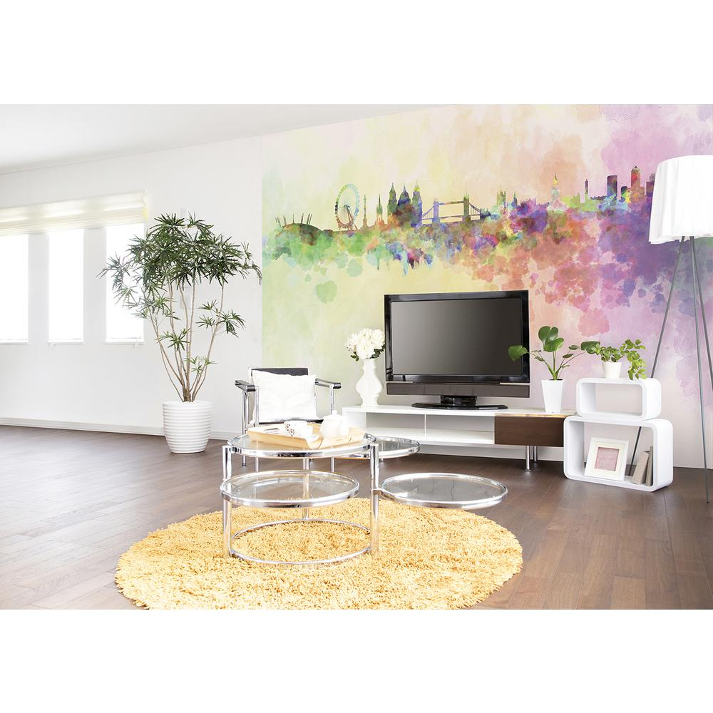 118 in. x 98 in. London Wall Mural