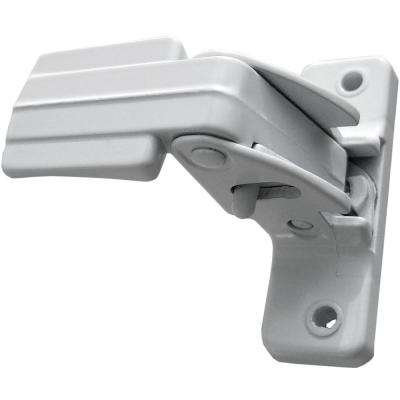Storm and Screen Door Inside Replacement Latch White