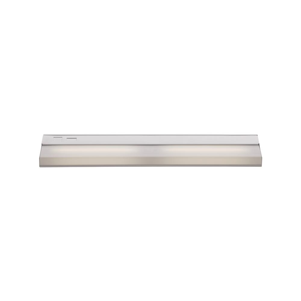Signature 24 in. White Under Cabinet Light with White Opal Shade