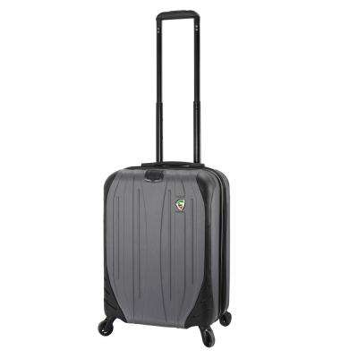 Compaz 20 in. Titanium Carry-On Hardside Spinner Suitcase