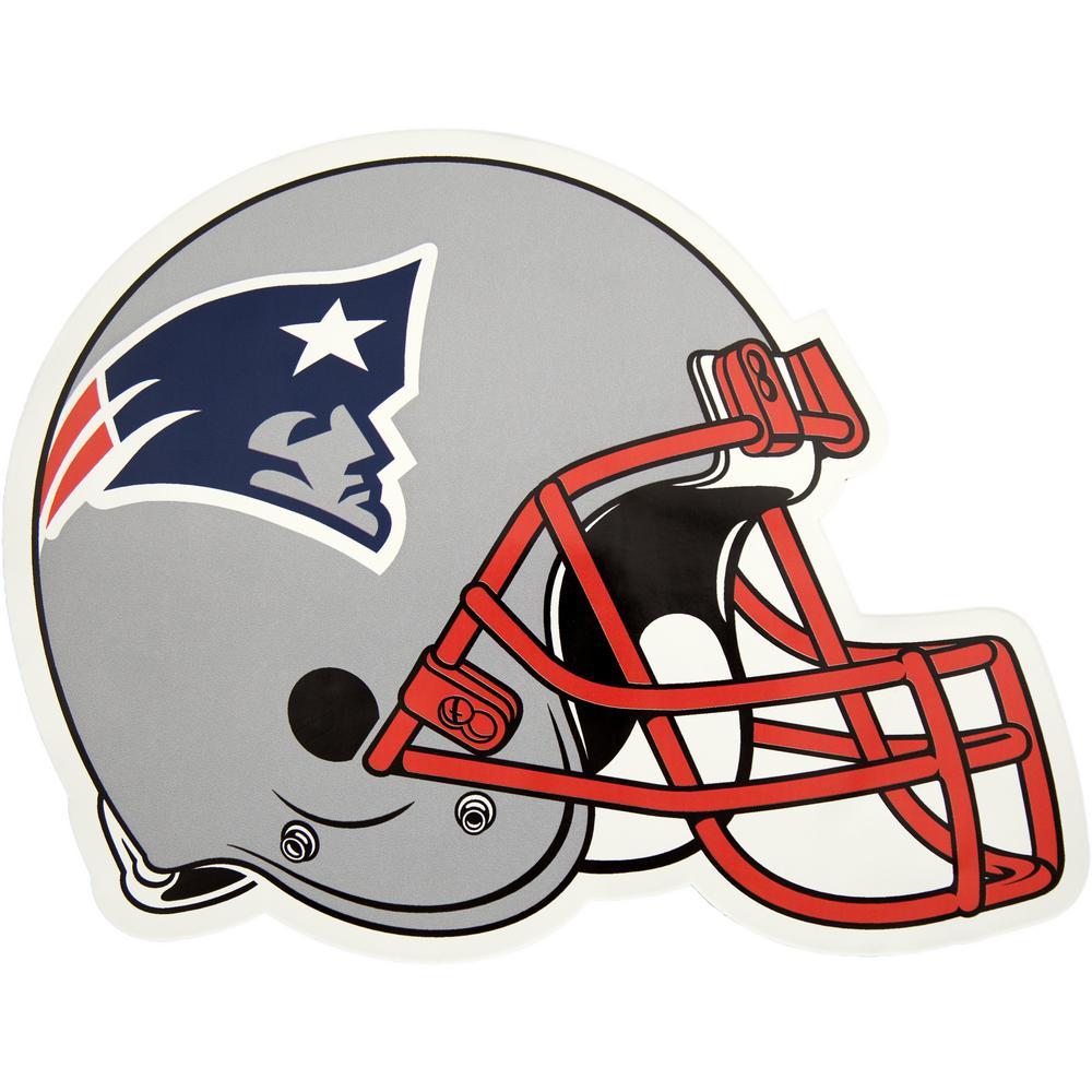 NFL New England Patriots Outdoor Helmet Graphic- Large