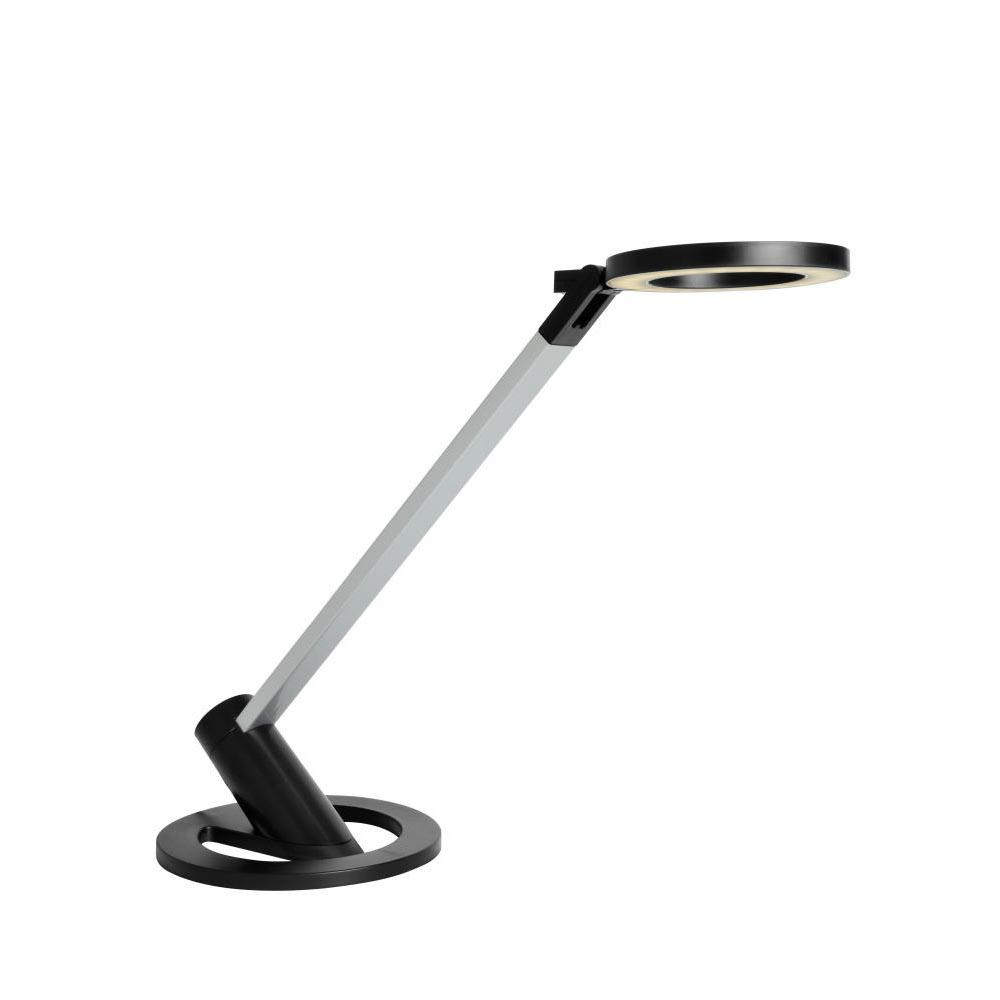 Hampton Bay 2 1 2 In Black Portable Clip On Lamp Ep602bk