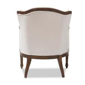Fine Baxton Studio Charlemagne Beige And Dark Brown Fabric Pabps2019 Chair Design Images Pabps2019Com